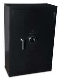 The largest size in the series, the DR-3 Drug Safe offers a huge 112L storage capacity and over 170kgs of intimidating solid steel ..