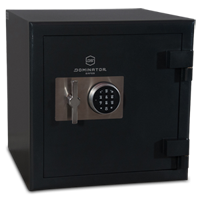 Commercial internal sizing in a domestic safe allows for higher than average storage capacity requirements without needing to pay for unnecessar