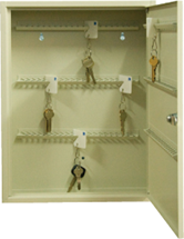 Key cabinets are designed to assist with key control and storage in domestic or commercial applications..